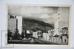 Old Postcard Caracas - Venezuela, Avenida San Martin - Old Cars - Venezuela