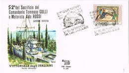 25777. Carta Exposicion CARDONE RIVIERA Bs)  1972. Sacrificio Tommaso GULLI Y Aldo ROSSI - 6. 1946-.. Repubblica