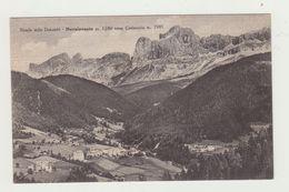 NOVA LEVANTE VERSO CATINACCIO (BOLZANO) - NON VIAGGIATA - POSTCARD - Bolzano