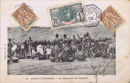 Côte-d'Ivoire - Le Marché De Sakala - Costa De Marfil