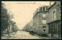 DUCEY - ROUTE DE ST HILAIRE - CACHET HOPITAL AUXILIAIRE 120 DUCEY - Ducey