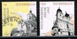 Österreich 2015, Michel# 3184 + 3194 O - 2011-... Gebraucht