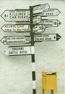 "Signpost (Irlanda, Ireland, Eire) Segnaletica Stradale, Thematic Stamp ""Segni Zodiacali"" - Irlanda"