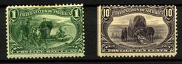1233- Estados Unidos Nº 129 Y 134 - 1847-99 General Issues