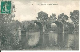 Lunel Pont Romain - Lunel