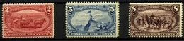 1234- Estados Unidos Nº 130, 132/3 - Unused Stamps