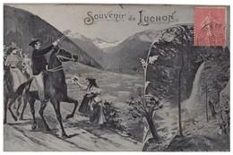 31 - LUCHON . SOUVENIR DE LUCHON - Réf. N°4316 - - Luchon