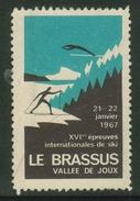 Suisse // Schweiz // Switzerland // Vignette Le Brassus Janvier 1967 - Schweiz