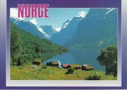 Loenvatn (Norvegia, Norge, Norway) The Lake Loen, Lago Loen - Norvegia