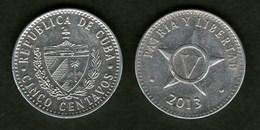 Cuba Kuba Moneta 5 Cent 2013 - Cuba