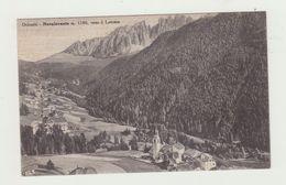 NOVA LEVANTE - DOLOMITI - NON VIAGGIATA - VERSO IL LATEMAR - POSTCARD - Bolzano