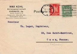 Allemagne - Chemnitz. Entier Postal De 1926. - Allemagne