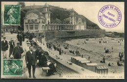 GRANVILLE - LE CASINO VU DU PLAT GOUSSET - Granville