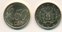 Vatican 2017 Original,officiel 50 Cent Pièce De Monnaie Armoiries Pape François - Vatican