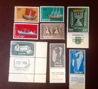 Israel 1950's Commemoratives MNH - Ongebruikt (met Tabs)