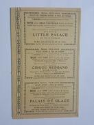 Saison 1913 - 1914 - 18 Tickets à Prix De Faveur - Cirque Médrano Et D'Hiver, Little Palace, Théatre, Omnia Cinéma Pathé - Tickets D'entrée