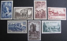 LOT BP/226 - 1938 - N°388 à 394 NEUFS ** (SERIE COMPLETE) - Cote : 165,00 € - Unused Stamps