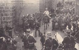 ARGENTON-CHATEAU - Les Opérations De L'inventaire De L'Eglise , 7 Mars 1906.. Très Rare Carte. - Argenton Chateau