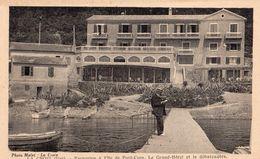 LA CROIX - EXCURSION A L'ILE DE PORT-CROS-LE GRAND HOTEL ET LE DEBARCADERE   CARTE ANIMEE - Other Municipalities