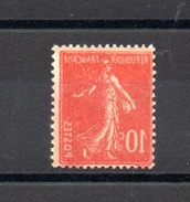 FRANCE N°138 - 1906-38 Sower - Cameo