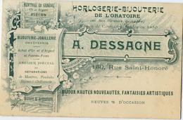 75 PARIS CDV DESSAGNE HORLOGERIE BIJOUTERIE RUE ST HONORE - Non Classificati