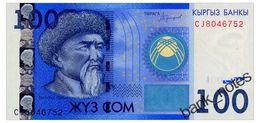 KYRGYZSTAN 100 SOM 2016 Pick New Unc - Kyrgyzstan