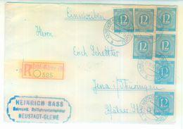 Nr. 920 MEF (7) Einschreiben Aus Neustadt-Glewe Mi. 80 € - Gemeinschaftsausgaben
