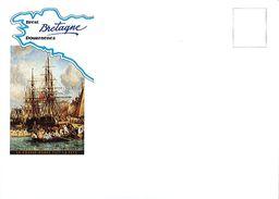 813  Enveloppe Illustrée  Bretagne  Brest 92  Douarnenez 29 Finistère  Le Chasse Marée Fait La Fête - Holidays & Tourism