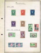 Petite Collection De 13 Timbres Du Honduras Et Du British Honduras (1907, 1937) - Honduras