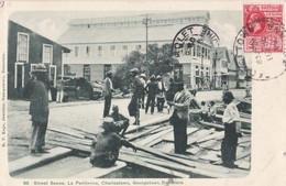 GUYANE BRITANNIQUE. - Street Scene, La Penitence, Charlestown, Georgetown, Demerara. Carte RARE - Sonstige
