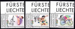 Liechtenstein, 1996, Mi.1129/31,  Olympische Sommerspiele, Atlanta. MNH ** - Usados