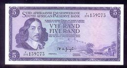 South Africa 5 Rand (1967 - 1974)  P112b   UNC - Afrique Du Sud