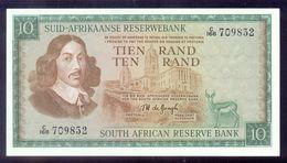 South Africa 10 Rand (1967 - 1974)  P114b   UNC - Afrique Du Sud