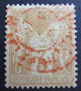 LOT R1510/216 - SAGE Type II N°104 - CàD ROUGE DES IMPRIMES - Cote : 70,00 € - 1876-1898 Sage (Type II)
