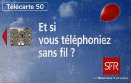 TELECARTE 50 UNITES SFR - Advertising