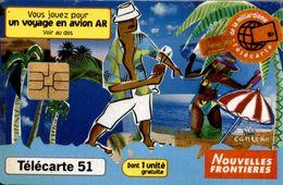 TELECARTE 50 UNITES NOUVELLES FRONTIERES - Téléphones