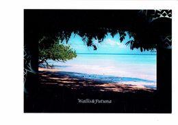 Cpm - WALLIS Et FUTUNA - PLAGE D'UTULEVE - Pacifique Sud - N°56 Beauvilain Th. - Wallis E Futuna