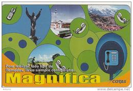 BOLIVIA - Icatel Bolivia, Cotas Telecard6 Bs., 02/03, Used - Bolivia