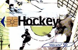 TELECARTE 50 UNITES HOCKEY - Téléphones