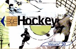 TELECARTE 50 UNITES HOCKEY - Telephones