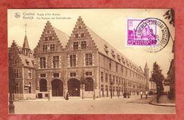 AK Courtrai Museum, EF Bornhem, SoSt Kortrijk 1931 (41875) - Belgien