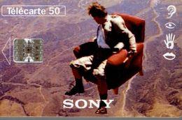 TELECARTE 50 UNITES LE 16/9 PAR SONY - Telephones