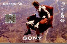 TELECARTE 50 UNITES LE 16/9 PAR SONY - Advertising