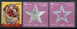 2009 -  CIPRO - Mi. Nr. 1169/1171 -  NH - (CW2427.57) - Ungebraucht