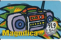 BOLIVIA - 91.9 La Radio Activa 2, Cotas Telecard Bs. 6, Tirage 50000, 11/01, Used - Bolivia