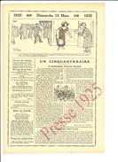 2 Scans - Presse 1925 Cinquantenaire Mort De L'explorateur Francis Garnier Tonkin / Jean Van Albert Géant Homme  216CH1 - Vieux Papiers