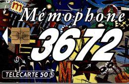 TELECARTE 120 MEMOPHONE 3672 - Téléphones