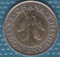 GHANA 100 CEDIS 1999 KM# 32 Bi-métallique Cocoa Beans - Ghana