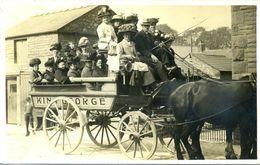 UNKNOWN HORSE DRAWN COACH - KING GEORGE RP K5 - United Kingdom
