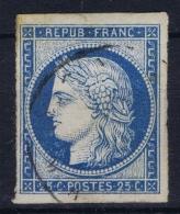 France: Yv Nr 4   Bleu Claire Obl./Gestempelt/used - Ceres